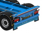 Flexitrailer FT-LS-S Containerauflieger | Containerchassis