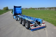 Neues D-TEC 20-Fuß-Tankcontainerchassis